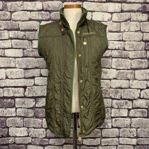 Gersemi Olive Green Vest Size Small